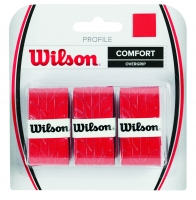 Grip de squash WILSON Profile-Overgrip-rouge