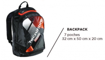 Sac de squash TECNIFIBRE AIR-Endurance-BACKPACK